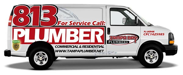 Tampa Plumbing Van
