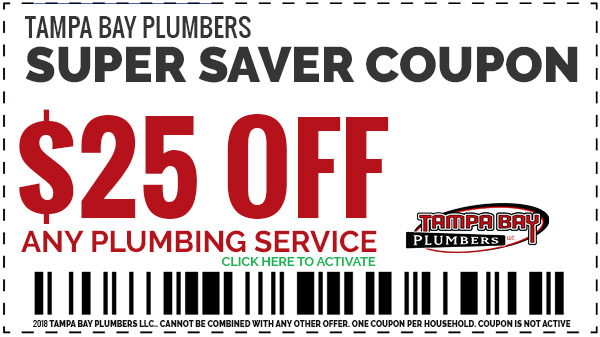 2018 Plumbing Coupons Tampa Bay Plumbers Save $25 OFF Any Plumbing Service