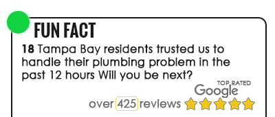 Tampa Plumber Top Rated on Google Reviews