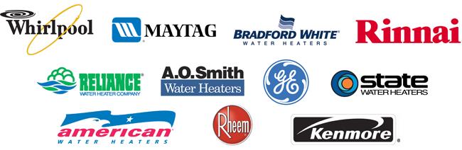 Water Heater Brand Logos