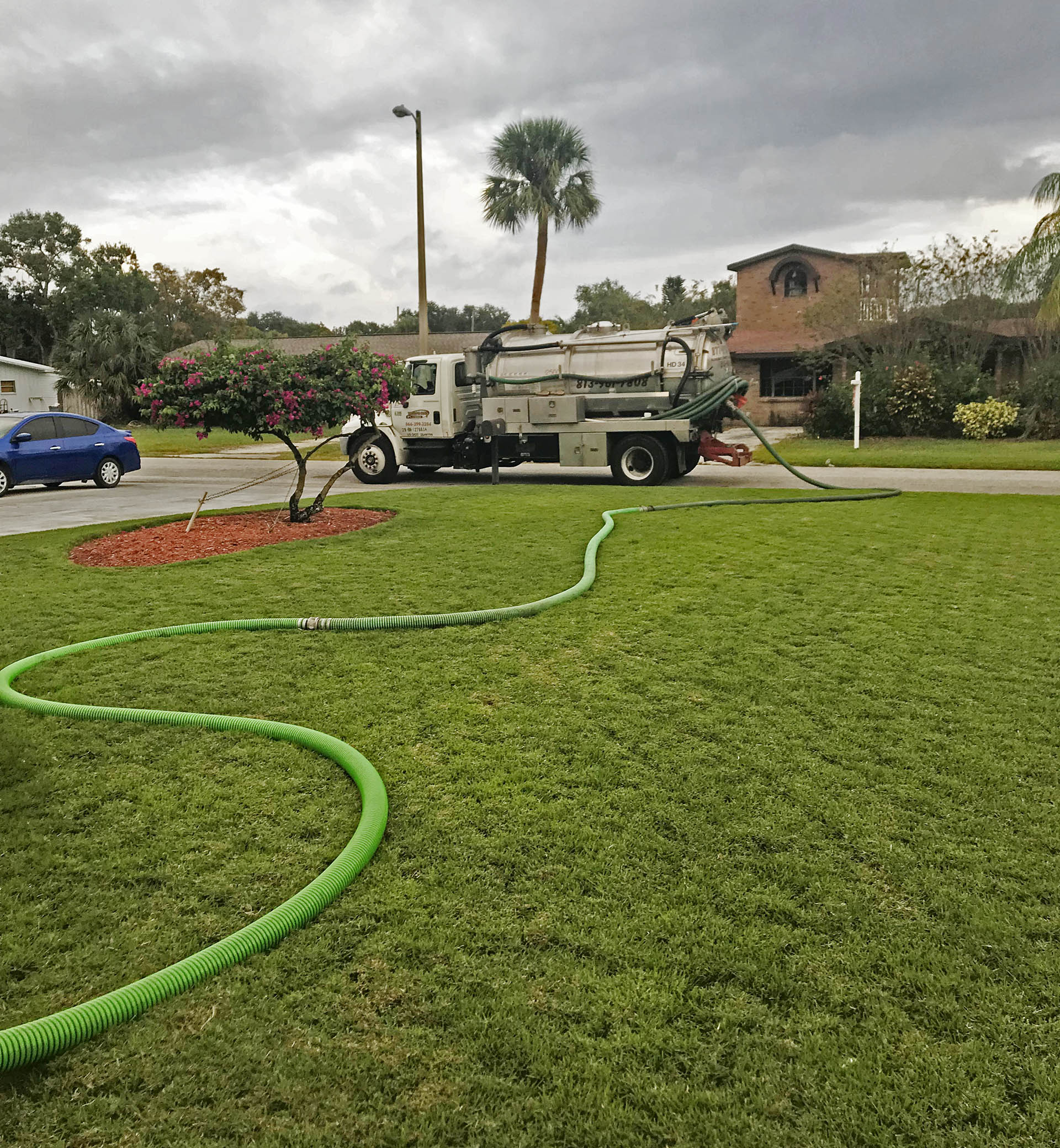 Septic Pump Out Truck Tampa